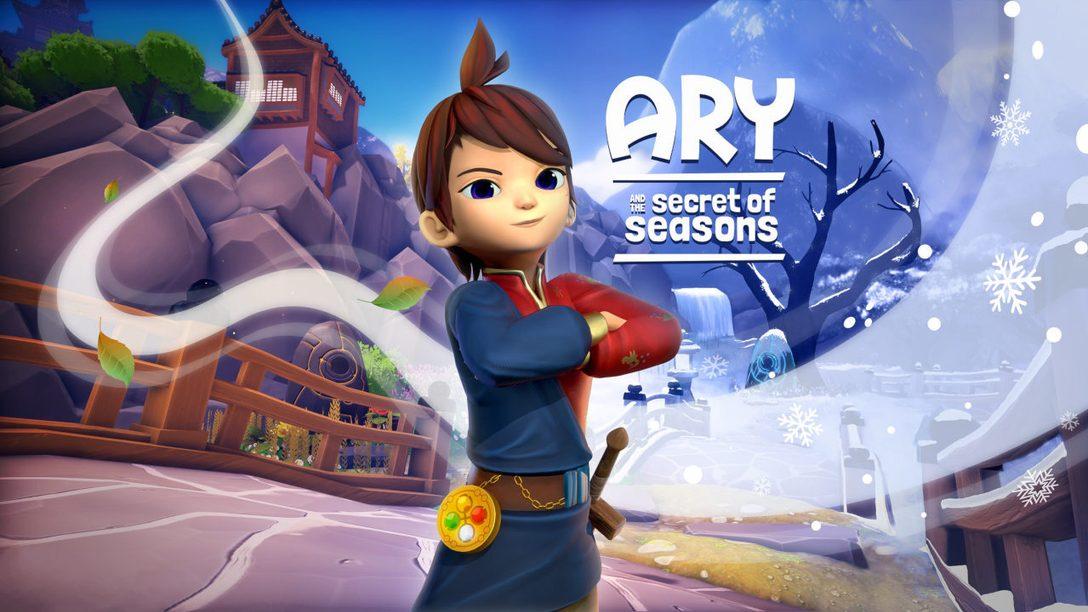 Maîtrisez les pouvoirs des quatre saisons dans Ary and the Secret of Seasons