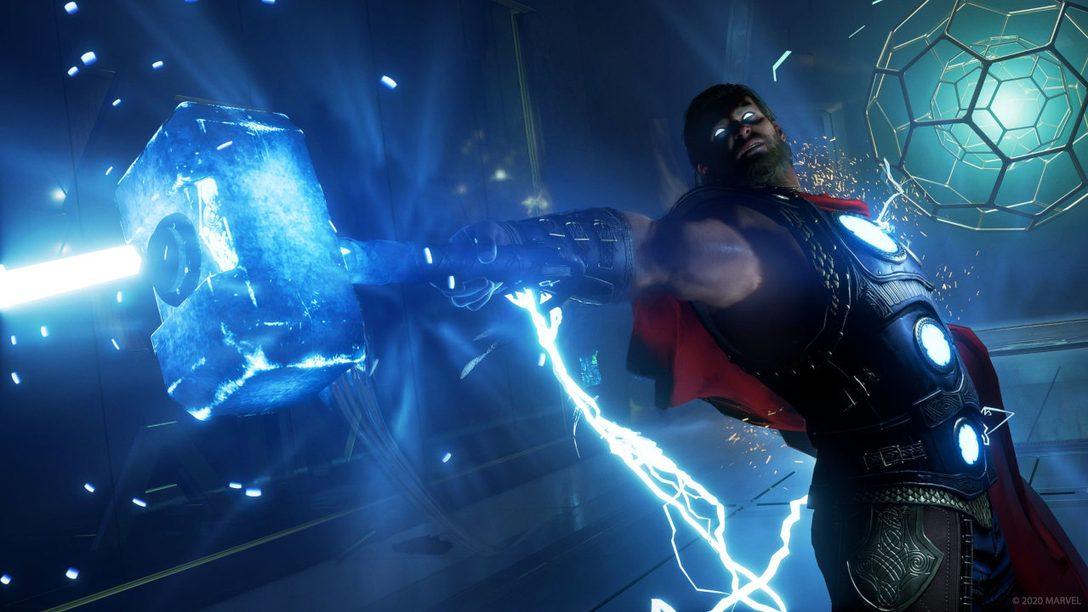 C'est le premier week-end de Marvel's Avengers, qui sort demain sur PS4
