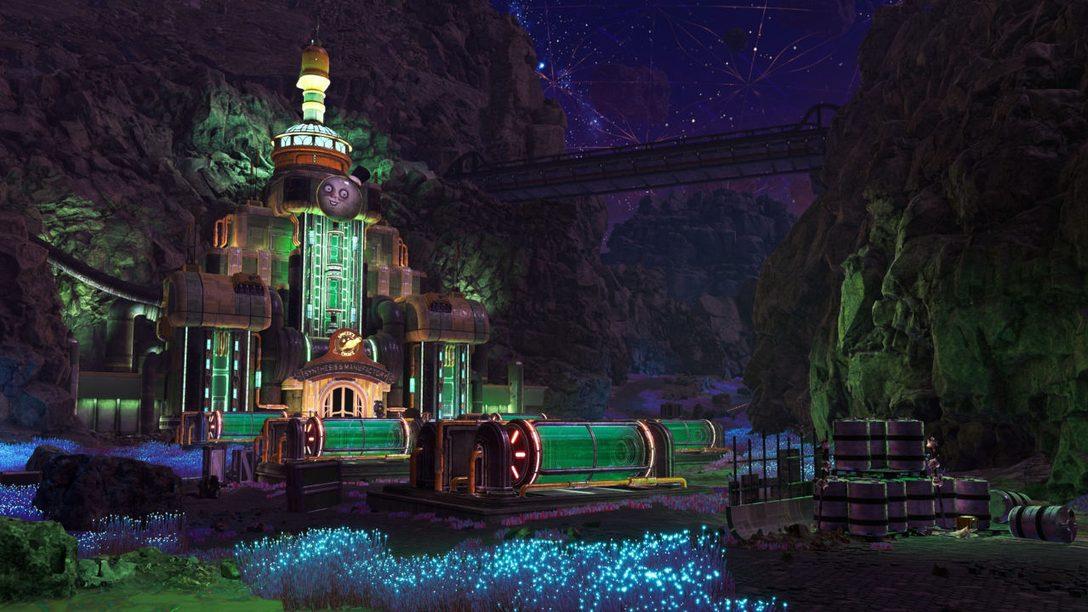 Découvrir les mystères de The Outer Worlds : Peril on Gorgon