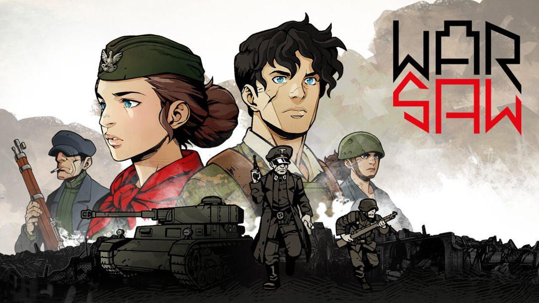 Guidez vos troupes dans l'enfer de WARSAW, intense RPG au tour par tour, débarquant sur PS4 dès le 29 septembre