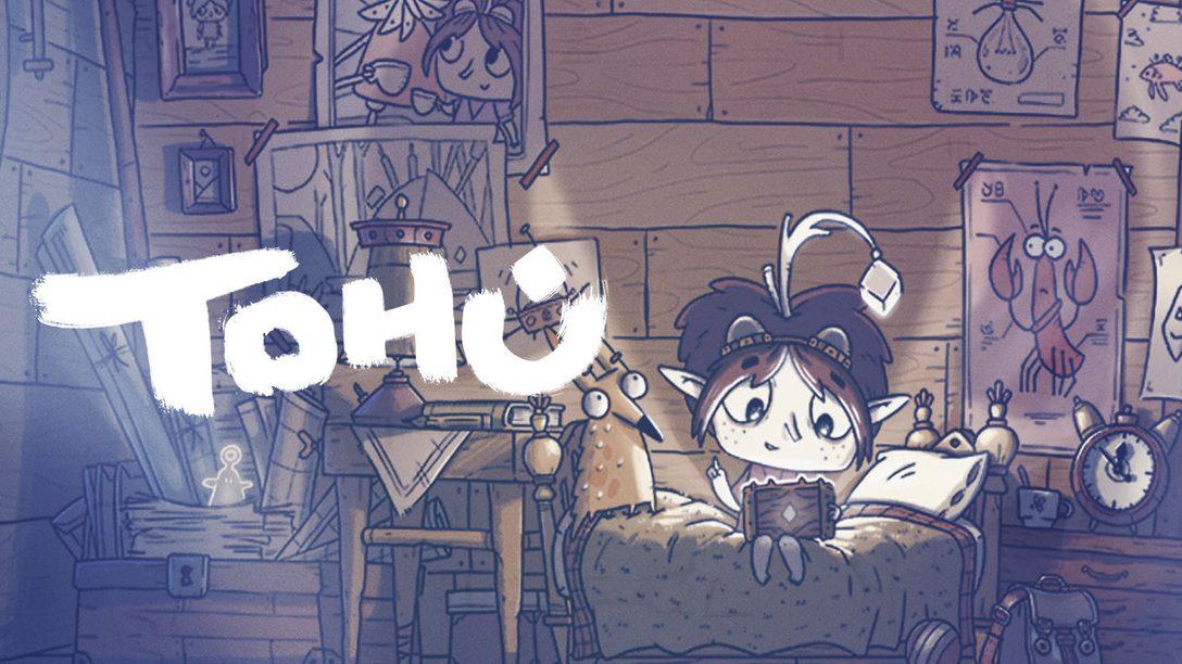 7 choses à savoir sur Tohu, un tout nouveau jeu d'aventure disponible sur PS4 plus tard cette année