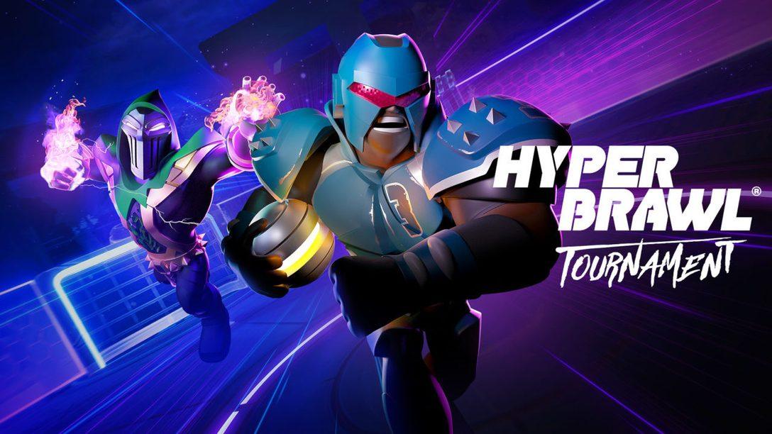 Défoncez tout, battez-vous et marquez des buts épiques dans HyperBrawl Tournament, disponible dès le 20 octobre sur PS4.