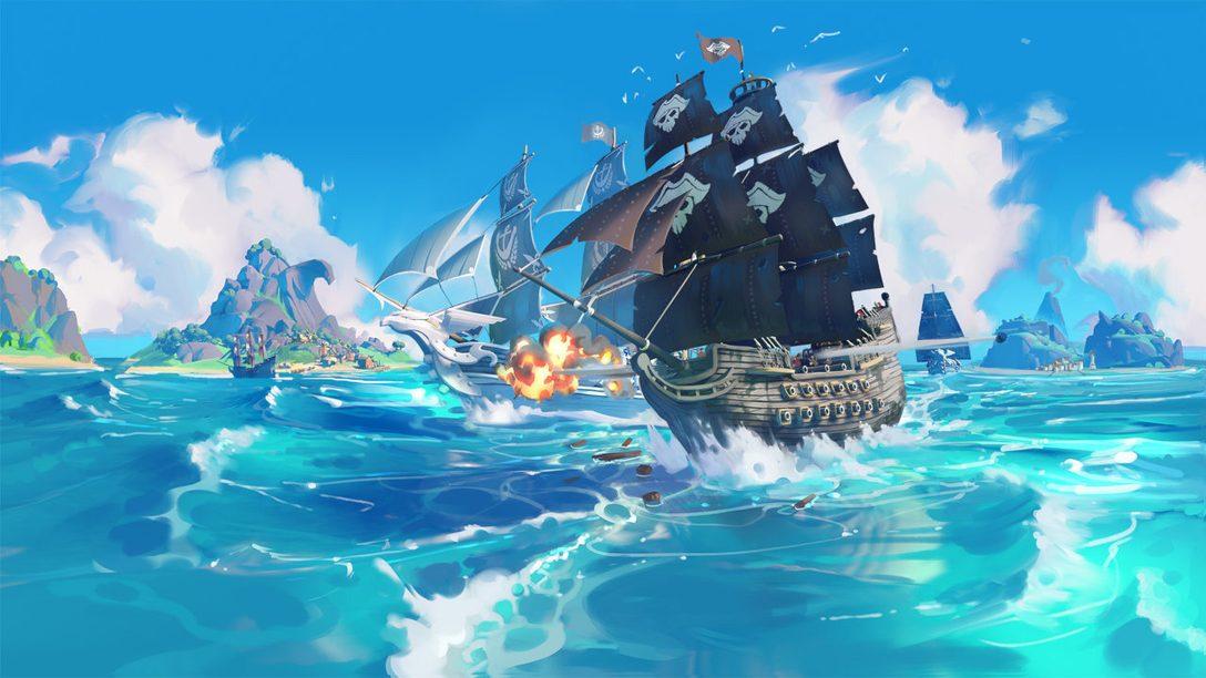 King of Seas sera disponible pour les fêtes sur PS4