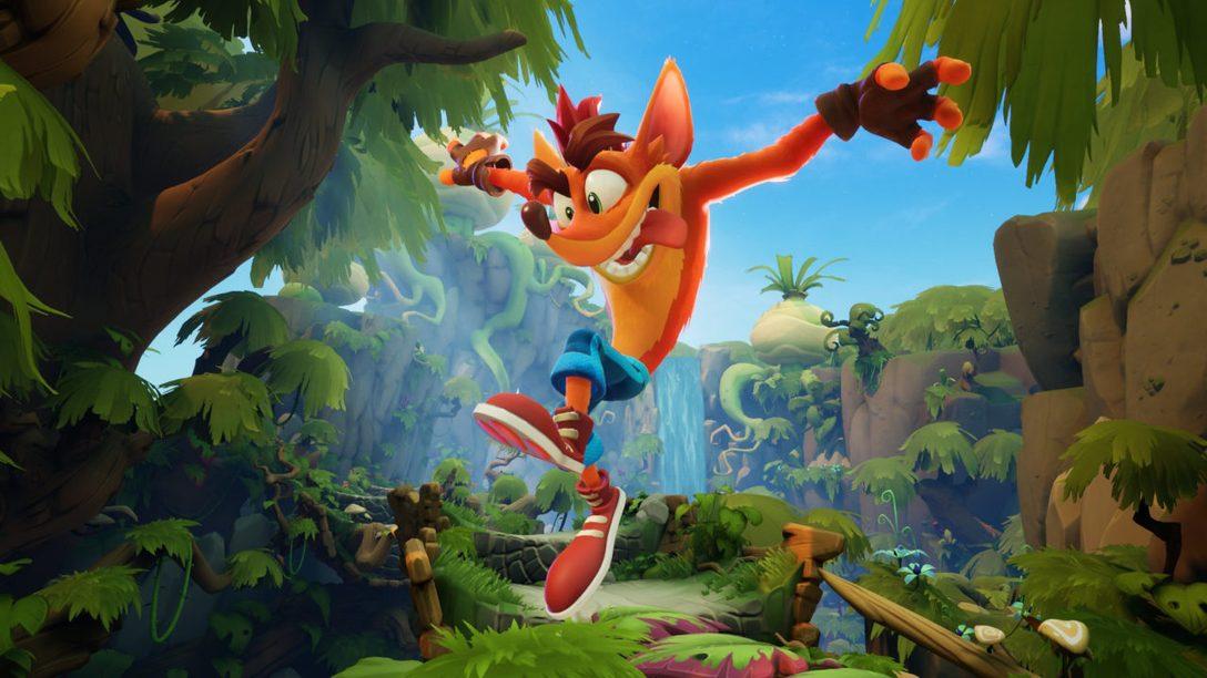 La démo de Crash Bandicoot 4: It's About Time arrive aujourd'hui sur le PS Store