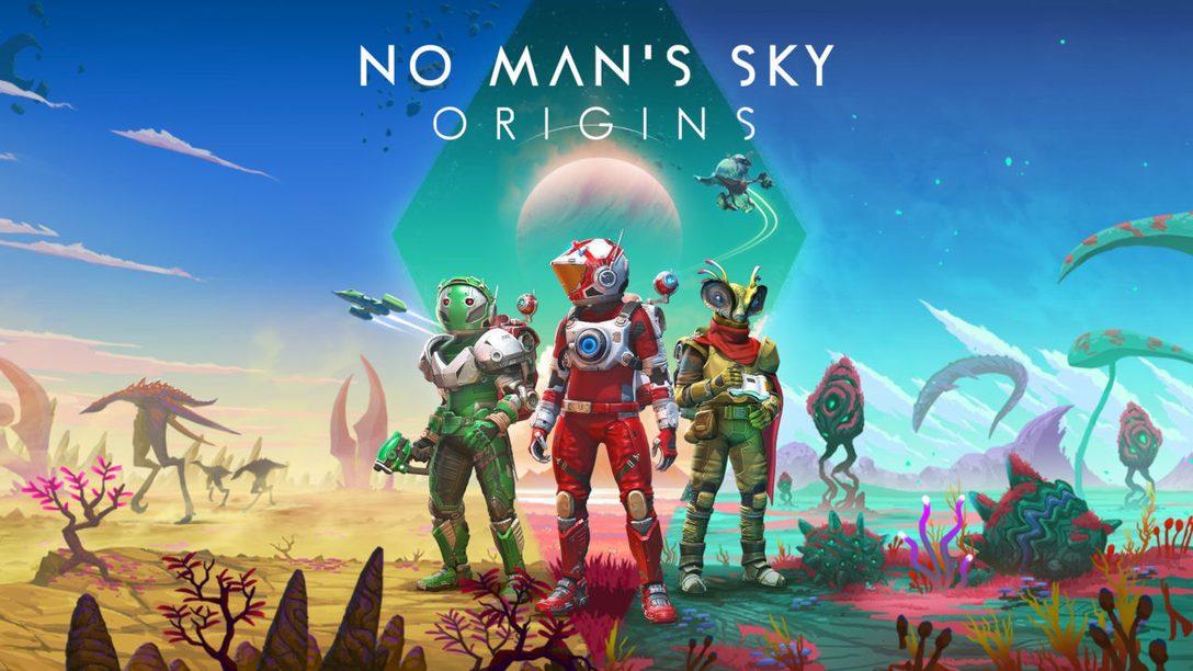 Découvrez »Origins», la dernière mise à jour de No Man's Sky