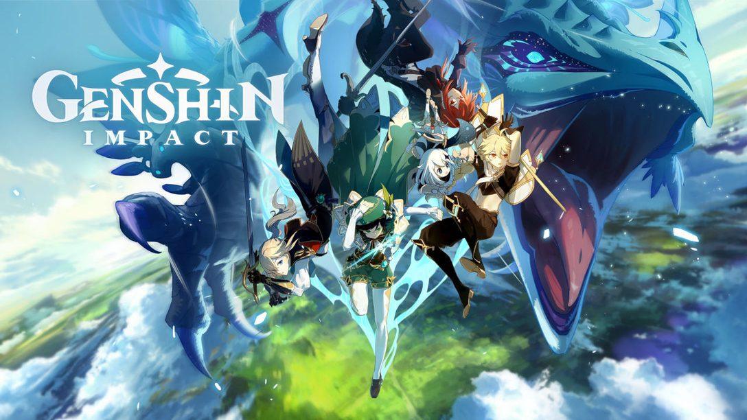 Votre aventure dans Genshin Impact commence dès aujourd'hui