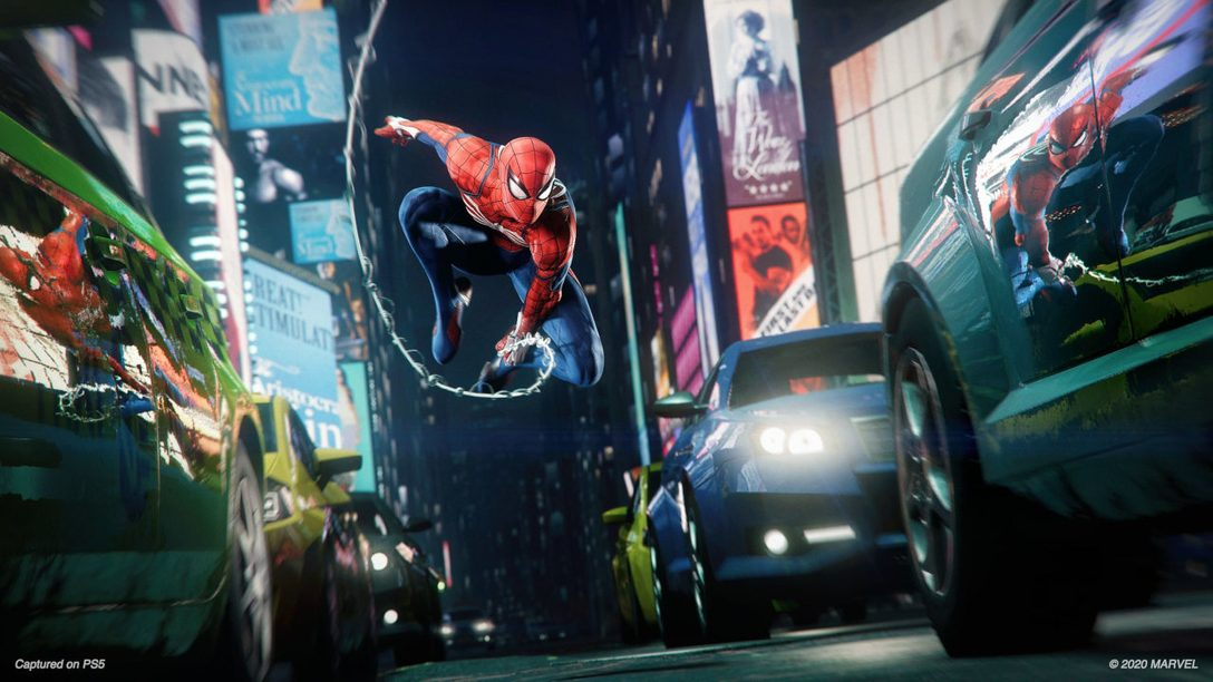 Gros plan sur Marvel's Spider-Man: Remastered