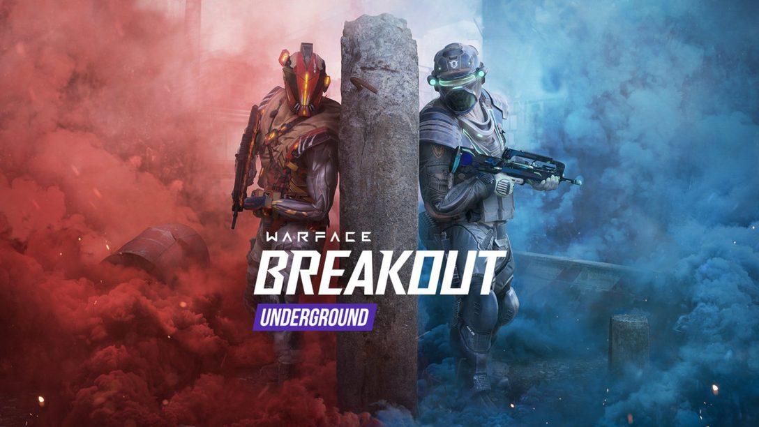 Découvrez la saison Underground de Warface: Breakout aujourd'hui sur PS4