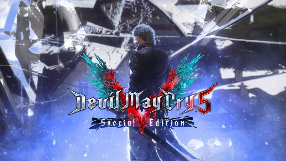 Devil May Cry 5 Special Edition débarque sur PlayStation 5