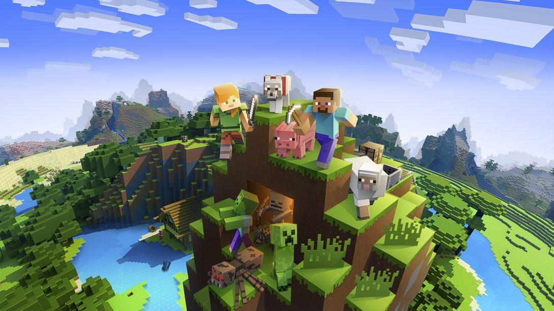 Minecraft ajoute la prise en charge de PS VR ce mois-ci