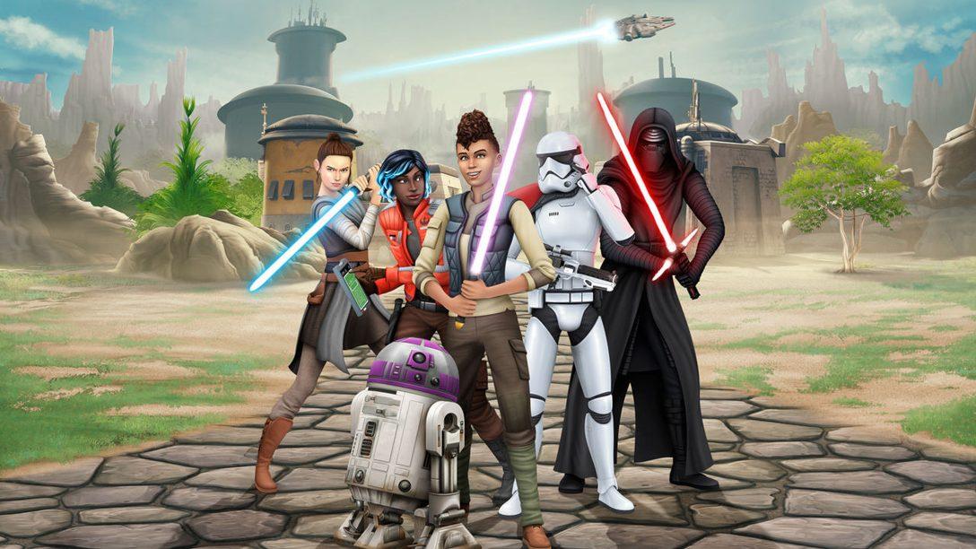 Plongez dans l'univers de Star Wars comme vous l'avez toujours rêvé dans Les Sims 4 Star Wars : Voyage sur Batuu