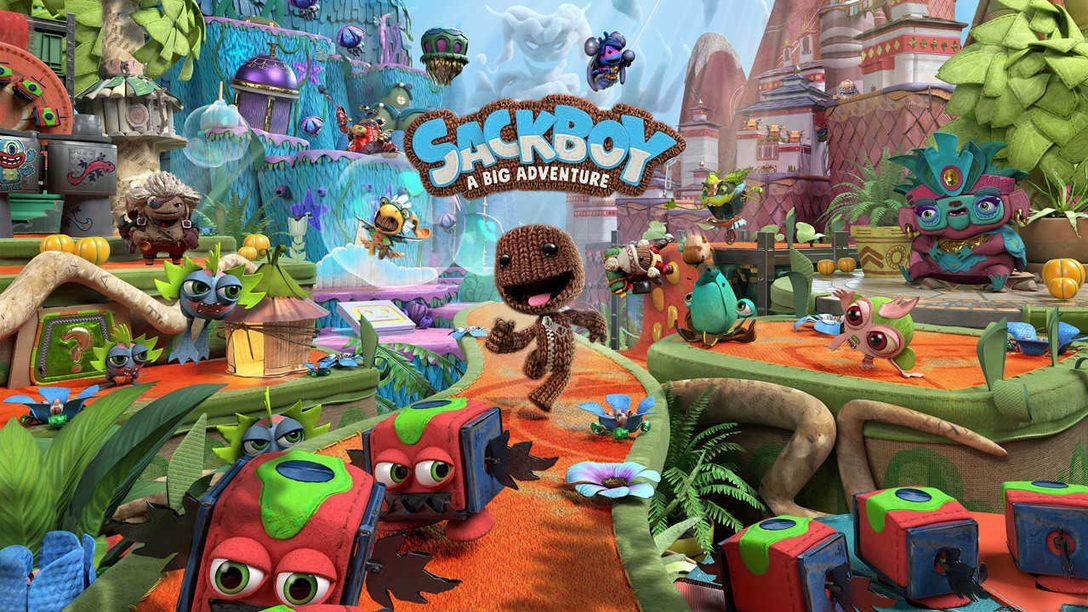 Embarquez dans un jeu de plateforme épique avec Sackboy: A Big Adventure – bientôt sur PS5 !