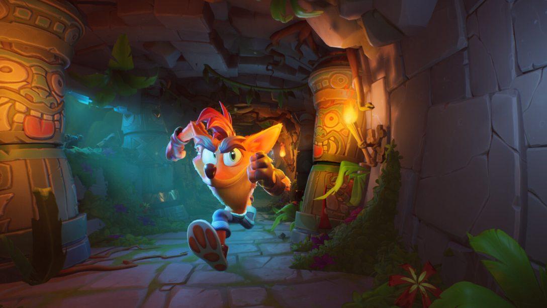 Crash Bandicoot 4: It's About Time débarque sur PS4 le 2 octobre