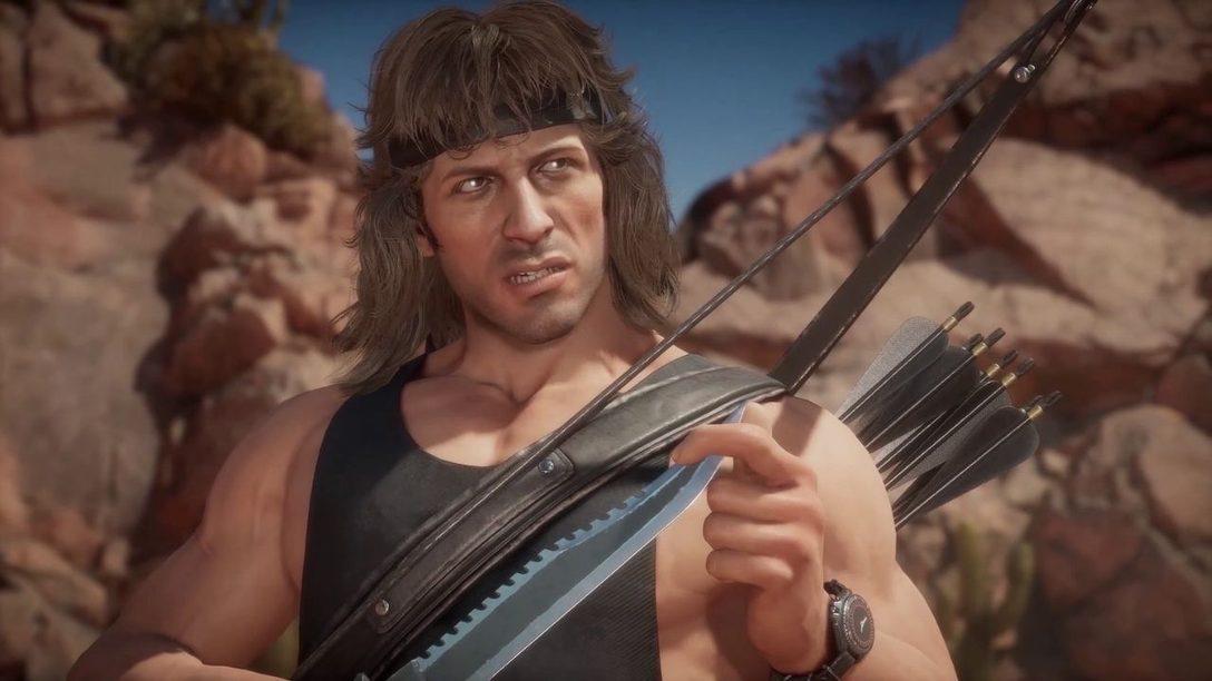 Mortal Kombat 11 Ultimate – Gameplay de Rambo dévoilé
