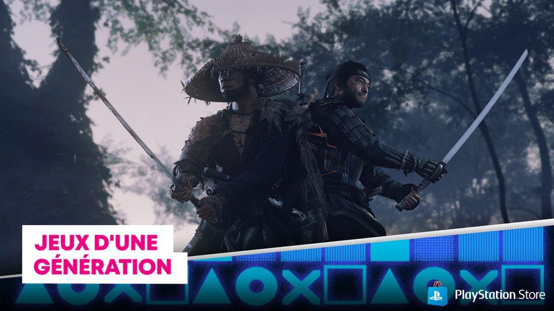 La promo Jeux d'une génération arrive sur le PlayStation Store