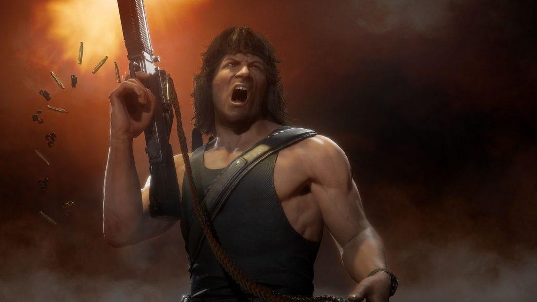 Mortal Kombat 11 Ultimate propose Rain, Mileena et Rambo