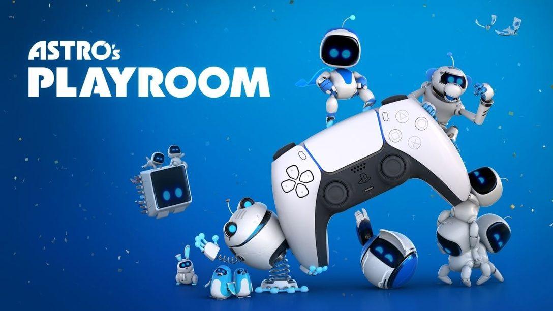 Libérez la puissance de la manette sans fil DualSense avec Astro's Playroom