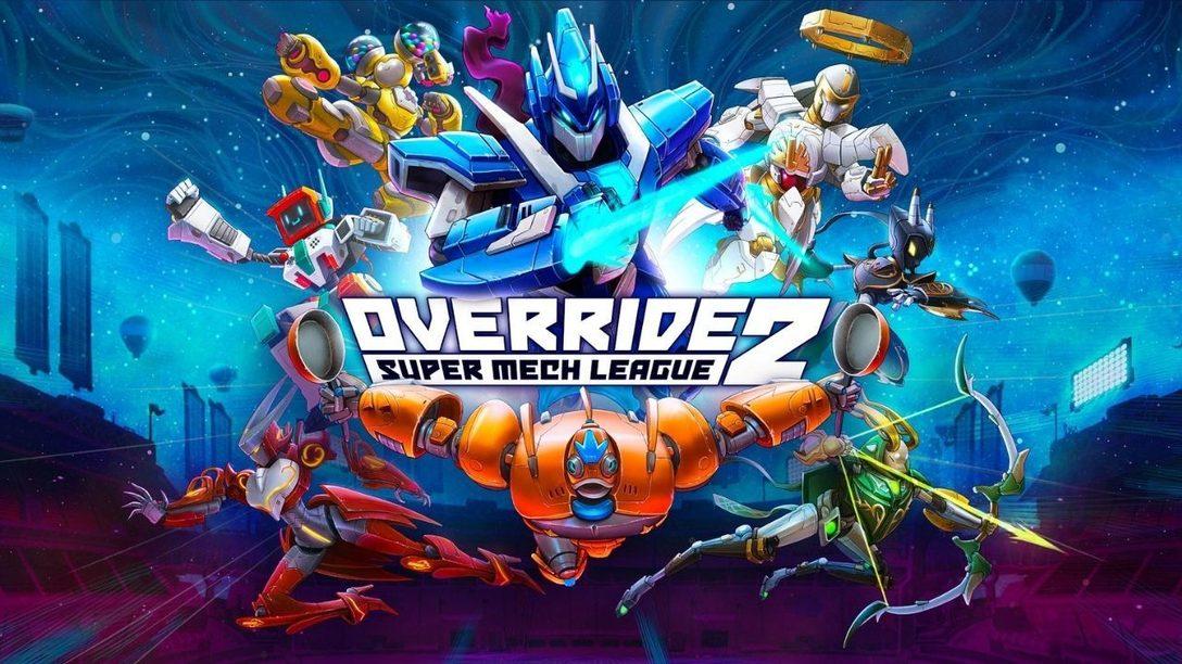 La bêta ouverte d'Override 2: Super Mech League arrive aujourd'hui sur PS4 et PS5