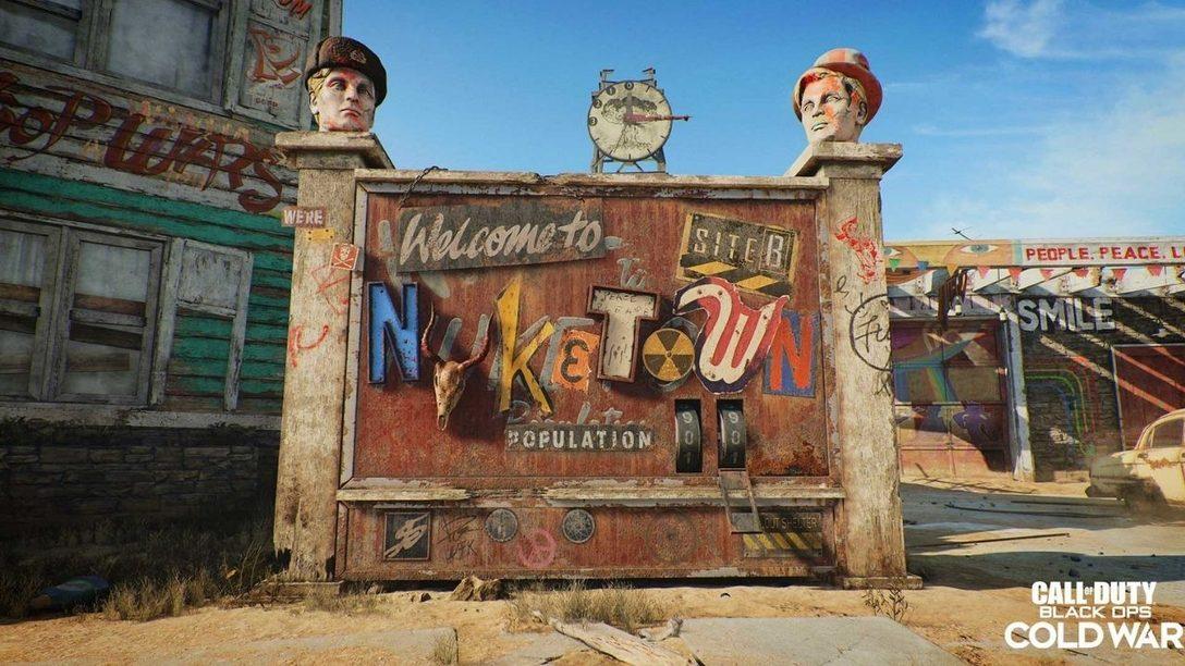 Nuketown '84 : la carte emblématique revisitée pour Black Ops Cold War.