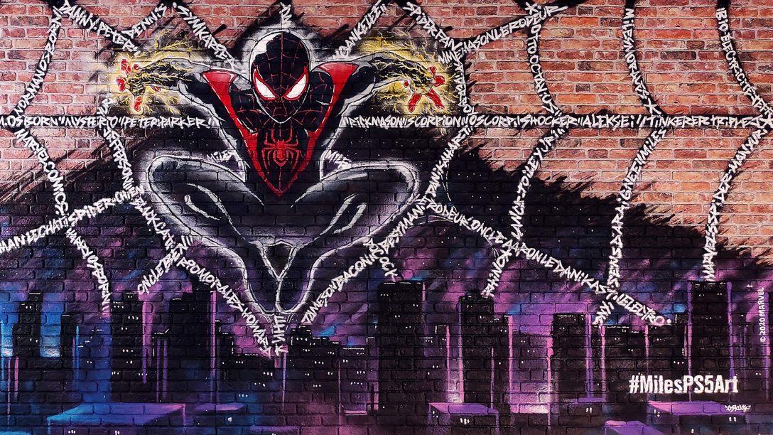 PlayStation France tisse sa toile Marvel's Spider-Man : Miles Morales avec #MilesPS5Art et vous fait gagner des cadeaux !