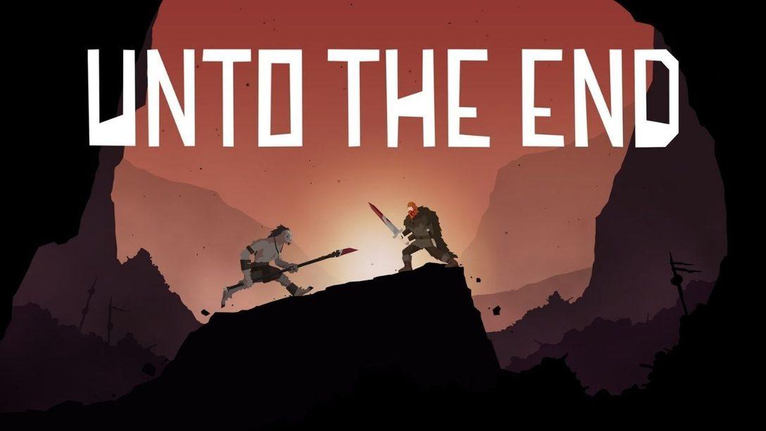 Unto The End se lance le 9 décembre sur PS4