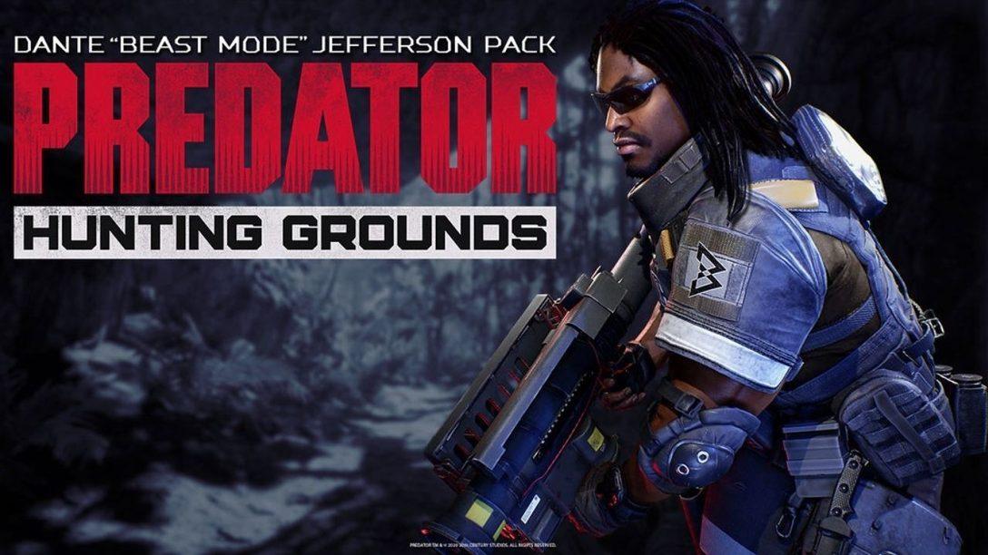 Marshawn Lynch rejoint Predator: Hunting Grounds dans la peau de Dante Jefferson, dit «la Bête»