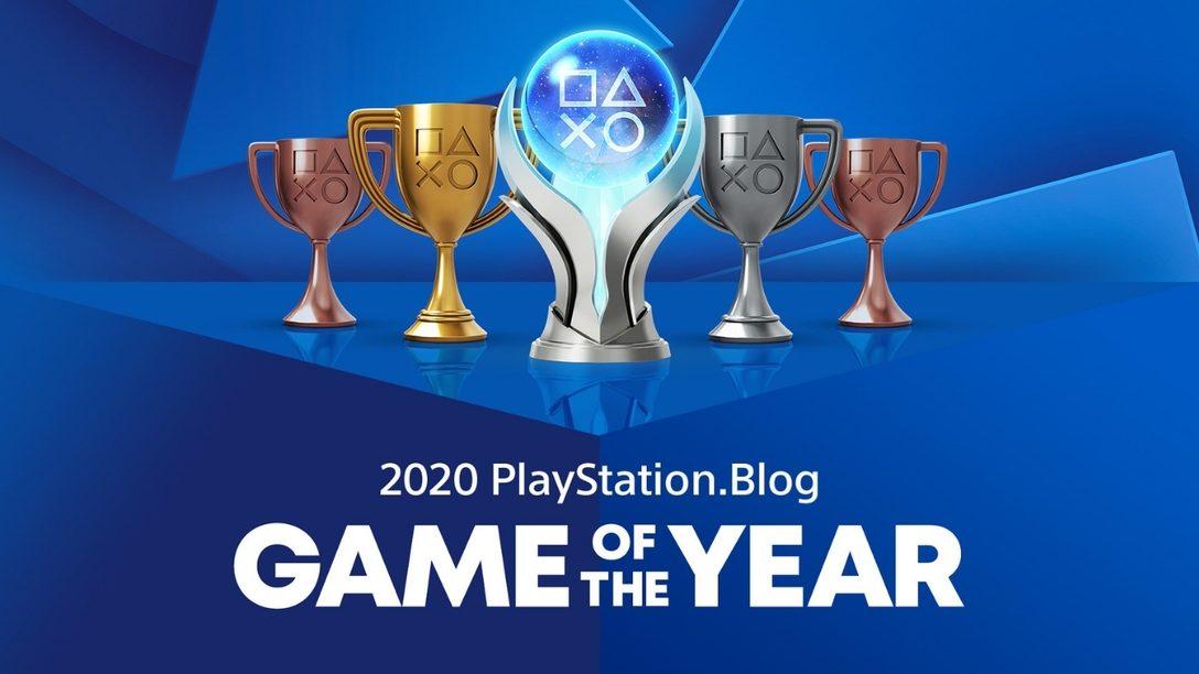 Les vainqueurs des Jeux de l'année PlayStation