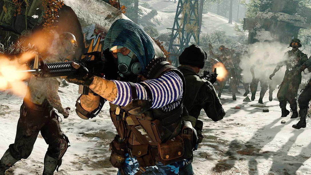 Essayez gratuitement le mode Zombies de Black Ops Cold War