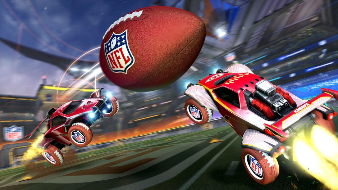 Préparez-vous à célébrer le Super Bowl LV de la NFL dans Rocket League