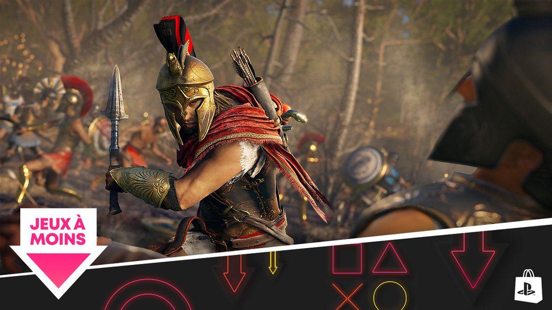 La promotion « Jeux à moins de » arrive sur le PlayStation Store