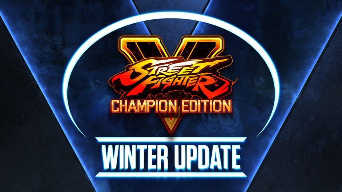 La saison 5 de Street Fighter V commence le 22 février