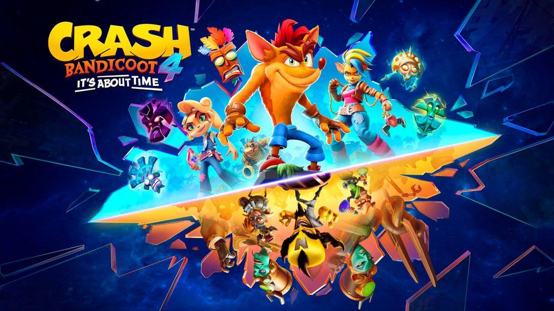 Crash Bandicoot 4: It's About Time débarque sur PS5 le 12 mars