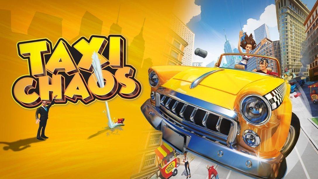 Taxi Chaos remet le jeu de taxi au goût du jour