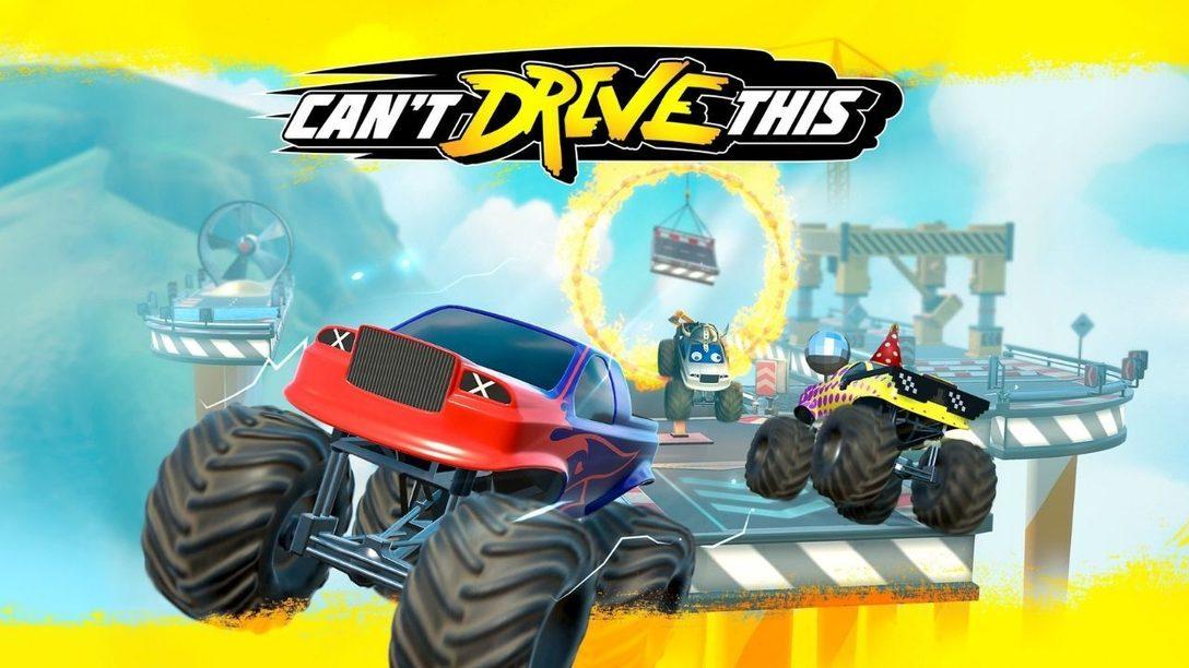Can't Drive This – Le jeu en écran partagé plein d'adrénaline arrive sur PS4 et PS5 le 19 mars