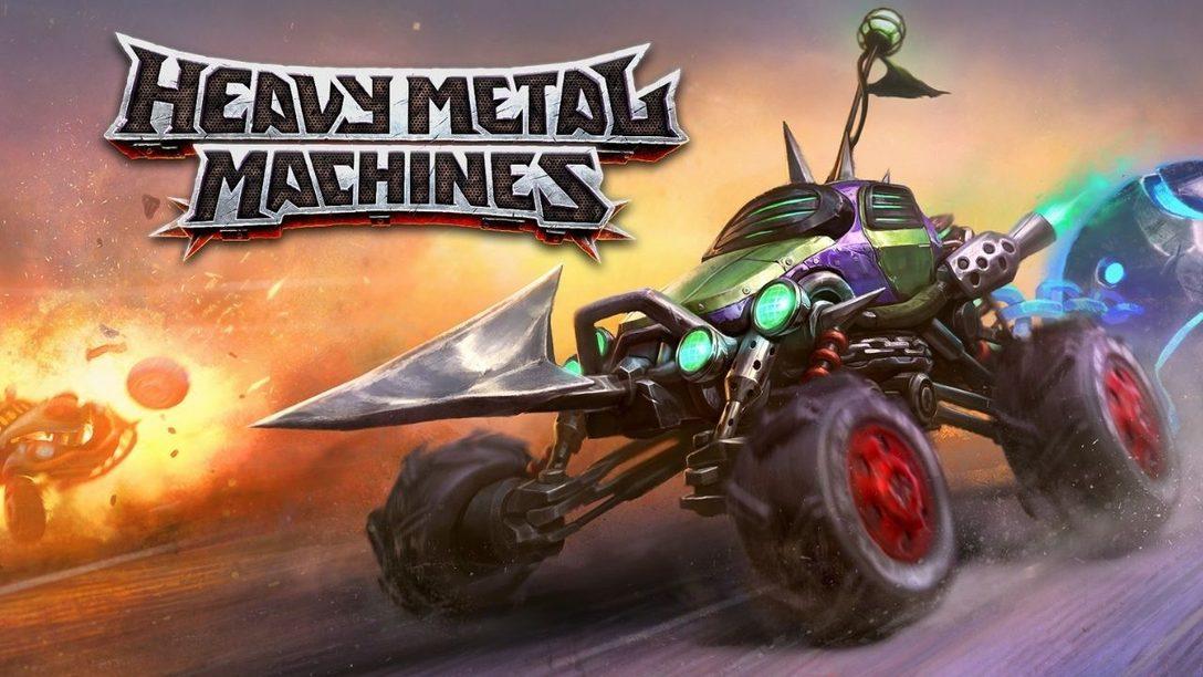 Heavy Metal Machines, le jeu de combat de véhicules F2P, sort demain sur PS4 et PS5