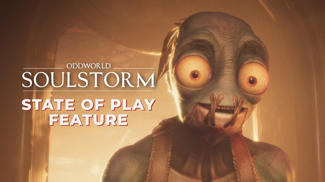 Oddworld: Soulstorm arrive le 6 avril sur PS4 et PS5