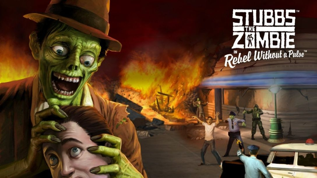 Stubbs the Zombie in Rebel Without a Pulse prend vie sur PlayStation dès le 16 mars