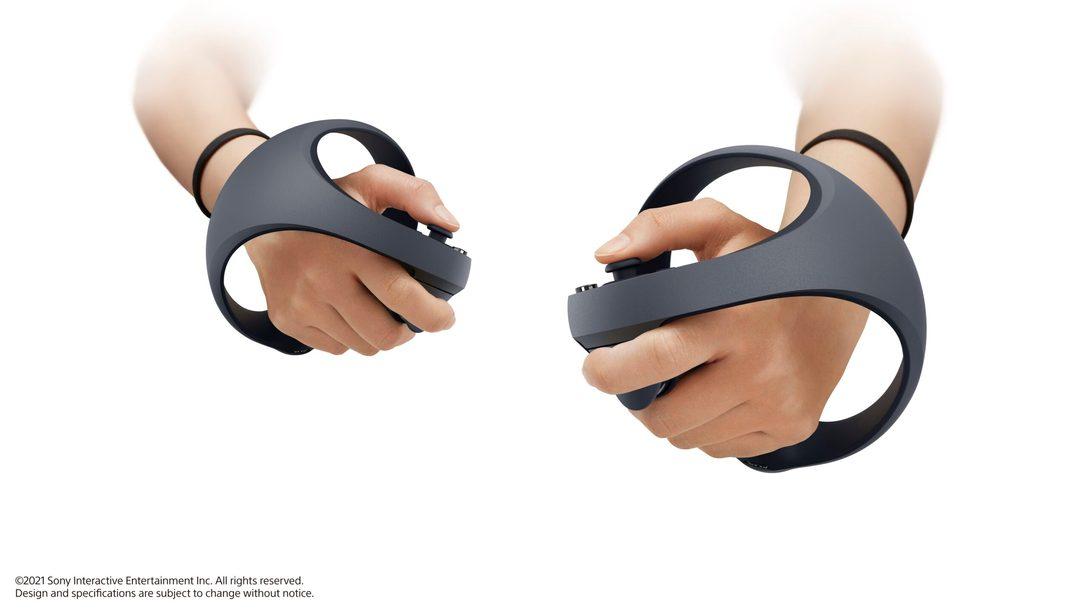 VR nouvelle génération sur PS5 : la nouvelle manette