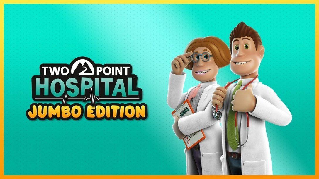 Two Points Hospital: Jumbo Edition injecte une bonne dose d'absurdité dans votre quotidien