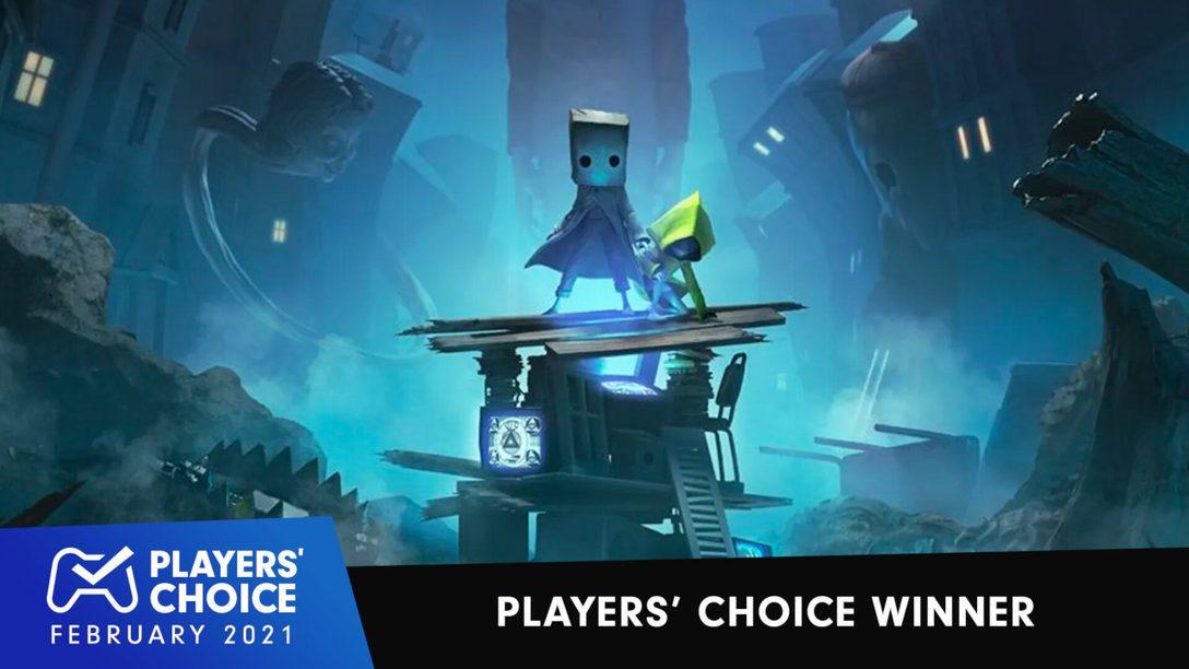 Choix des joueurs : Little Nightmares II élu nouveau meilleur jeu de février 2021