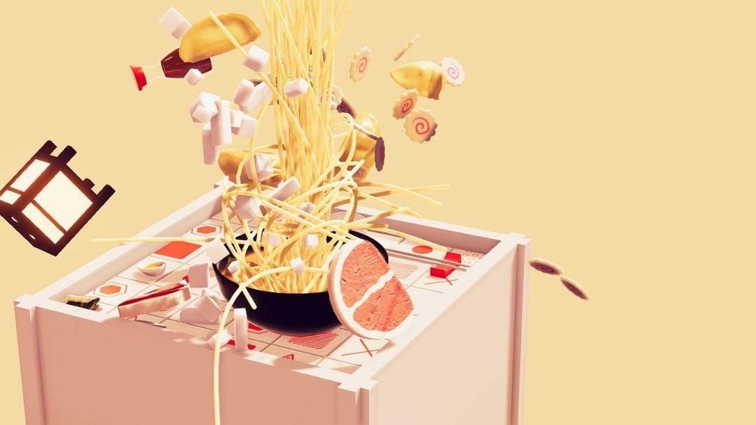 Dans Nour: Play With Your Food, votre Second de cuisine est une bande-son interactive