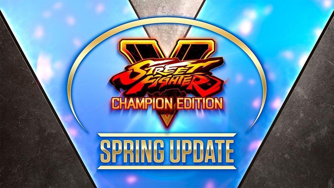La mise à jour de printemps de Street Fighter V nous donne des nouvelles d'Oro et de Rose