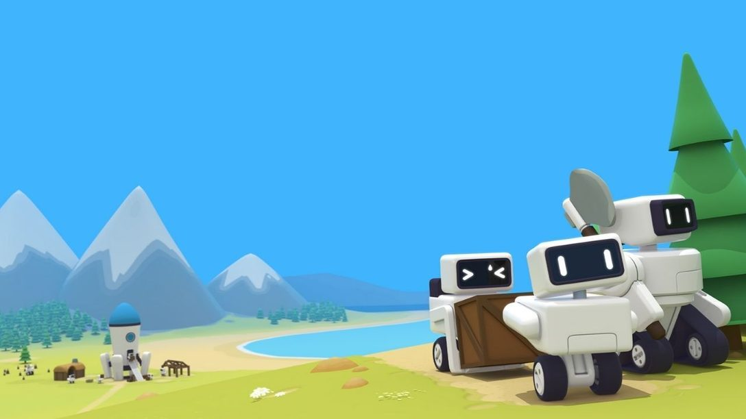 Construisez une ville automatisée pour d'adorables robots dans The Colonists, sorti sur PS4 le 4 mai.
