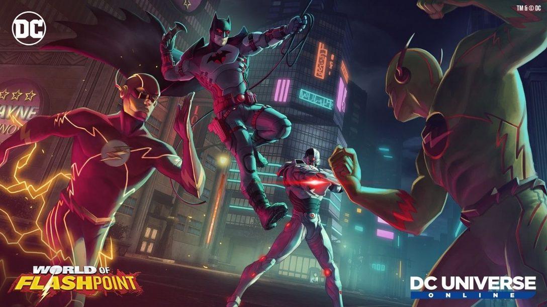 World of Flashpoint du DC Universe Online arrive le 15 avril 2021