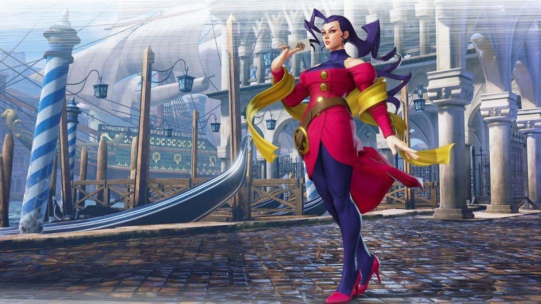 Rose puise dans ses origines de Street Fighter Alpha pour son retour dans SFV