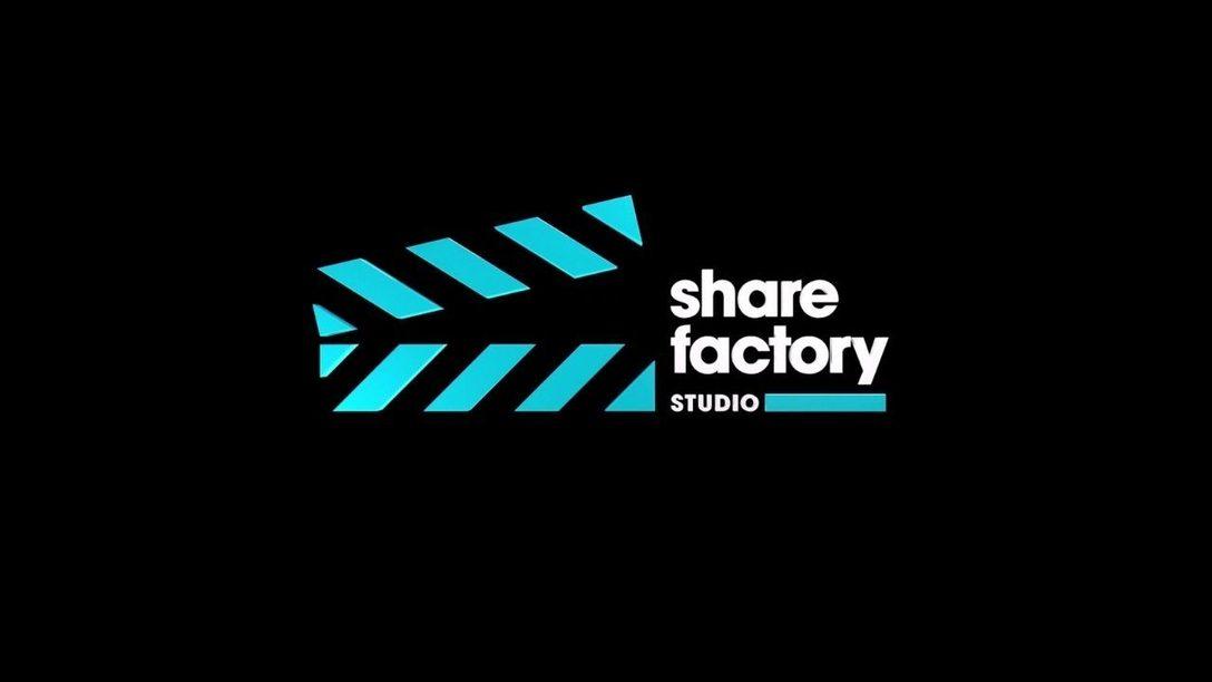 La dernière mise à jour de Share Factory Studio est disponible dès maintenant sur PS5