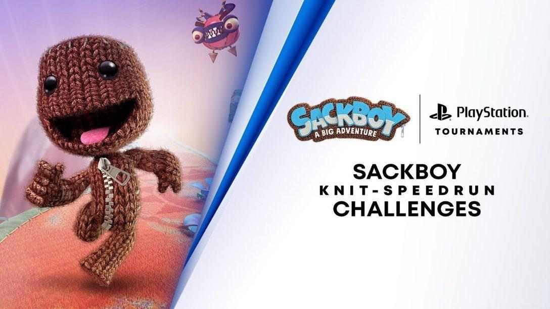 Testez votre habileté et vos réflexes dans le tout nouveau défi de speedrun dans Sackboy: A Big Adventure