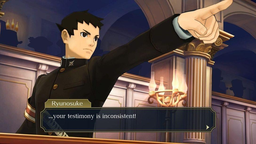 The Great Ace Attorney Chronicles arrive sur PS4 le 27 juillet