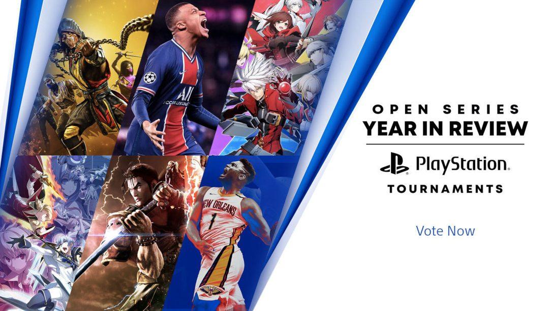 Open Series 2020 des Tournois PlayStation – Votez maintenant !
