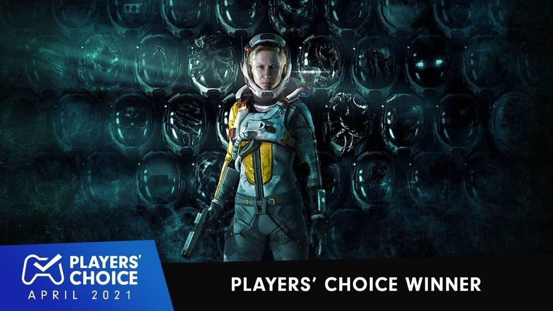 Choix des joueurs : Returnal élu meilleur jeu du mois d'avril 2021.